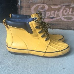 L.L. Bean Rain Boots Size 8